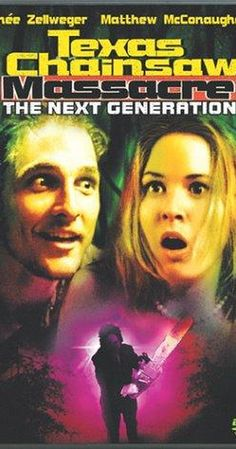 Directed by Kim Henkel.  With Renée Zellweger, Matthew McConaughey, Robert Jacks, Tonie Perensky. A group of teenagers get into a car crash in the Texas woods on prom night, and then wander into an old farmhouse that is home to Leatherface and his insane family of cannibalistic psychopaths.