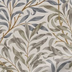 William Morris Wallpaper, Morris Wallpapers, Mink Curtains, Made To Measure Blinds, Country Walk, Fabric Blinds, Printed Curtains, Chalk Pastels, Illuminated Letters