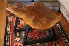 Natural Wood Coffee Tables - rustic coffee table, burl wood