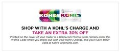 Kohls 30% OFF Coupons Code plus Free Shipping #kohls #kohlscoupons  Kohls is offering an Extra 30% Off Your Order when you apply promo code GARDEN30 at checkout and pay with your Kohls Charge Card. They also offering Free Shipping no minimum $ when you apply promo code MAYMVCFREE at checkout and pay with your Kohls Charge Card.  Note the 30% off and free shipping offers are valid online and in-store with coupon (printed or in Kohls Wallet on a mobile device) and require a Kohls Charge Card… Store Coupons, Printable Coupons, Kohls, Coupon Codes, Saving Money, 30th, How To Apply, Coding, Free Shipping