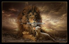 The Lion and the Lamb — Products – Prophetic Art of James Nesbit