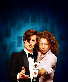 The Doctor and the Professor. The strangest married couple in the universe.
