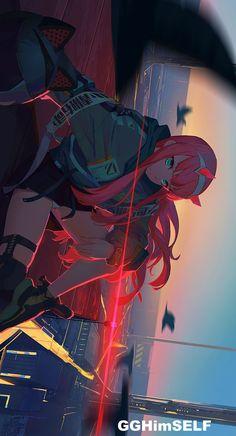 Emo Anime Girl, Kawaii Anime Girl, Cute Cartoon Wallpapers, Animes Wallpapers, Awesome Anime, Anime Love, Kaori Anime, Chica Gato Neko Anime, Dengeki Daisy Manga