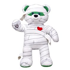 Get Caught Up In Fun With This Mummy Teddy Bear Make Your Own Stuffed Animal At Build A Today