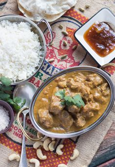 This dairy-free, gluten -free Slow Cooker Lamb Korma Curry is so quick and easy to put together, and readily feeds a large, hungry family. The curry freezes well, so any leftovers can be stashed in the freezer for an emergency meal. Slow Cooker Freezer Meals, Crock Pot Slow Cooker, Slow Cooker Recipes, Crockpot Recipes, Cooking Recipes, Slow Cooking, Keto Recipes, Savoury Recipes, Freezer Cooking