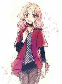 Diabolik Lovers (More Blood)- Yui Girls Anime, Manga Girl, Kou Diabolik Lovers, Mukami Kou, Hot Vampires, Anime Galaxy, Ayato, Maid Sama, Fanart