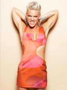 Foreign cool model - P!nk