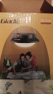 L' essence de la vie: Gladle ,la lampada da campeggio a LED