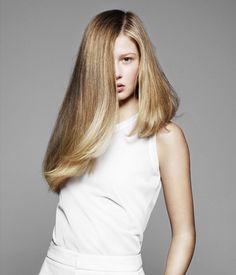 gorgeous assymetrical long hair Hair styles 2012