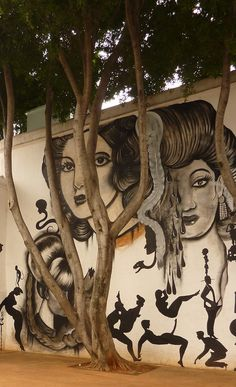 Mural by Dr. Lakra