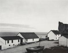 Paul Strand, Percé Village, Gaspé, Quebec, Canada 1929.
