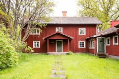 Swedish 18th century farm house