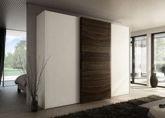 Stylish Sliding Door Wardrobe System, Multi-Forma II Collection by Huelsta - Home Design Inspiration Bedroom Furniture Design, Modern Bedroom Design, Sliding Wardrobe Doors, Sliding Doors, Modern Shutters, Wardrobe Systems, Wardrobe Door Designs, System Furniture, Bedroom Cupboards