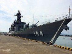 護衛艦くらまです 日向の細島港に明日まで入港しています一般公開もしていますお近くの方は行ってみてください tags[宮崎県]