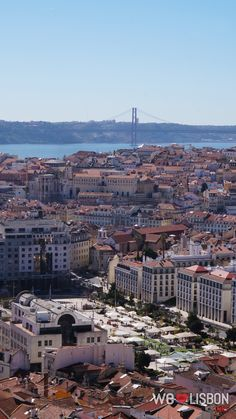 Miradouro Nossa Senhora do Monte-Lisbon's most revealing lookout point, with the finest views of the red-roofed city and a top photo spot. Red Roof, Top Photo, Lisbon, Paris Skyline, Portugal, Dolores Park, River, City, Cities