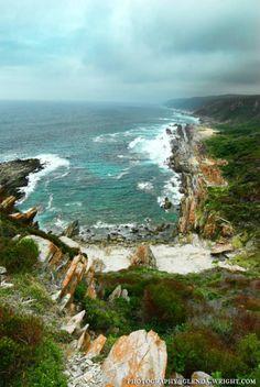 Tsitsikamma South Africa coast line