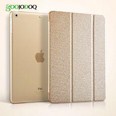 For ipad Mini 1 2 3 4 Silk Smart Case Luxury PU Leather Cover Stand Hard PC Back Case with Auto Sleep/Wake for Ipad mini 4 A0625 #Affiliate