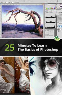 25 Minutes tutorial for the basics of photoshop for photographers. Great article https://www.mentormob.com/photography/hobbyist-photographer-2/intro-to-photoshop/learn-the-basics-of-photoshop-in-under-25-minutes