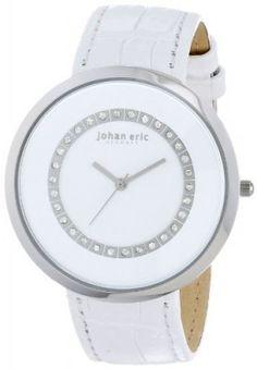 Relógio Johan Eric Women's JE5002-04-001 Vejle Analog Display Quartz White Watch #Relógio #Johan Eric