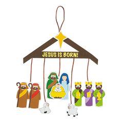 Nativity Mobile Craft Kit - OrientalTrading.com