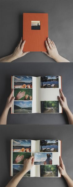 "Hudson 3up Photo Album. Holds 300 4x6"" photographs."