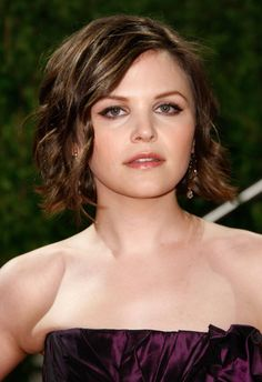 I think I would like to have my hair cut like Ginnifer Goodwin but with maybe a little more length