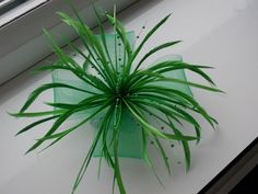 SALE...Green Fascinator