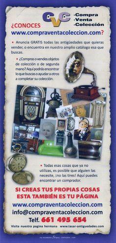 ¡ Si lo que quieres es Comprar o Vender ¡, esta es tu pagina.... http://www.compraventacoleccion.com/
