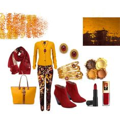 """""""Intense Yellow to Relax In"""" by martha-hill-carter on Polyvore"""