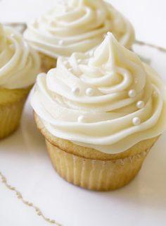 Vanilla-Vanilla Cupcake recipe from Magnolia Bakery in NY