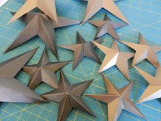 Country Momma Cooks: Texas Christmas Star Tutorial
