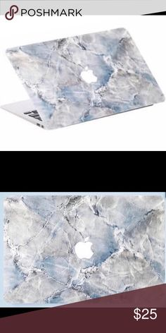 "Blue Sky Marble MacBook Skin!! Add style to your MacBook without the bulk!! Long lasting skin | Fits the 13"" MacBook Air & Pro and 13"" & 15"" MacBook Retina 