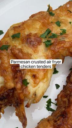Air Fryer Oven Recipes, Air Frier Recipes, Air Fryer Dinner Recipes, Appetizer Recipes, Air Fryer Chicken Recipes, Yummy Dinner Ideas, Food Recipes For Dinner, Chicke Recipes, Supper Recipes