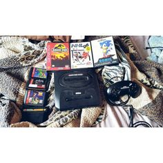 On instagram by __chelseybee #sonicthehedhedog #microhobbit (o) http://ift.tt/1s6kpW6 you're positive you have the best big brother ever you finds you a Sega Genesis with 8 games for one heck of a deal.  Nerding it up tonight. @handsome_poop_shoot #sega #genesis #sonic #jurassicpark #pagemaster #powerrangers #toystory #sonicandknuckles #90sbaby #nerdup #gamer #soexcited