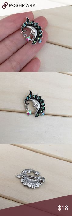 Iridescent Moon Reverse Belly Button Ring Brand New! 14 Gauge Surgical Steel. Absolutely no trades. Check out my all my items! Reasonable offers accepted! Bundle items for one shipping cost & a discount! Thanks for looking ☺️ If you have any questions leave a comment below Belly Button Ring Navel Piercing 14G Surgical Steel Body Jewelry New Jewelry Rings
