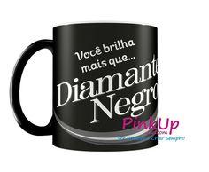 Caneca Diamante Negro
