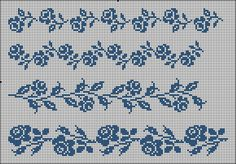 filet crochet lace roses chart ~~ Gallery.ru / Фото #5 - one colour - renske1957