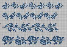 filet crochet lace roses chart ~~ Gallery.ru / Фото #5 - one colour - renske1957