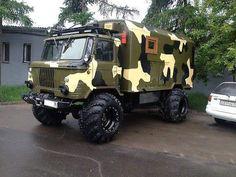 gaz 66 , 4x4 truck - RUSSIA
