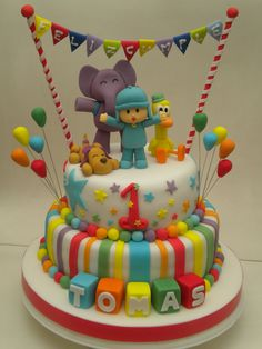 Torta Pocoyo | Flickr - Photo Sharing!