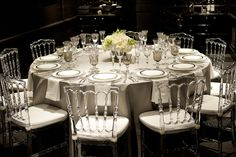 Tabletop Tuesday | A Silver Soiree | Posh Couture