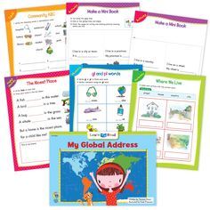 My Global Address Ebook & Worksheets – Creative Teaching Press Improve Reading Comprehension, Reading Strategies, Learn To Read Books, Nouns And Pronouns, Creative Teaching Press, Spelling Patterns, Math Work, Emergent Readers, Fiction And Nonfiction