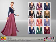 SLYD Elie Saab Dress Ondria Recolor - ELFDOR
