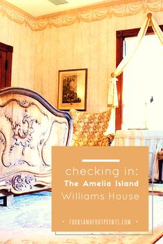 The Amelia Island Williams House is a perfect bed and breakfast nestled in Fernandina Beach on Amelia Island, Florida. The house has tons of charm and is well worth a trip!