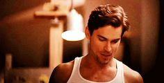 And he licked his lips again and you were basically dead.   37 Times Matt Bomer Blessed Us All With His Presence