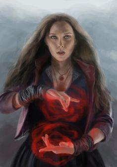 #Scarlet #Witch #Fan #Art. (Scarlet Witch) By: Quintessantriver. (THE * 5 * STÅR * ÅWARD * OF: * AW YEAH, IT'S MAJOR ÅWESOMENESS!!!™) ÅÅÅ+
