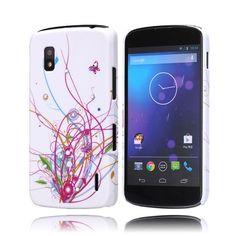 Princess (Kuvioitu) LG Goolge Nexus 4 Kotelo - http://lux-case.fi/princess-kuvioitu-lg-goolge-nexus-4-kotelo.html