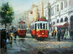 Yağlı Boya Taksim