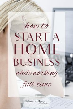 Great tips for starting a home business while still working a day job