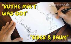 """Ruthe malt was 001: """"Biber und Baum"""""""